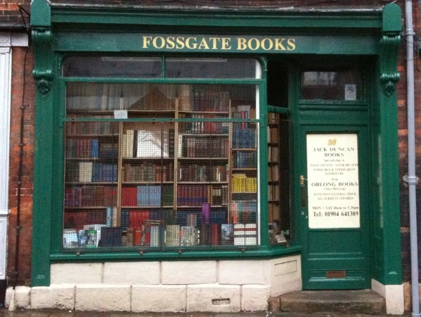 York Booksellers and Bookshops